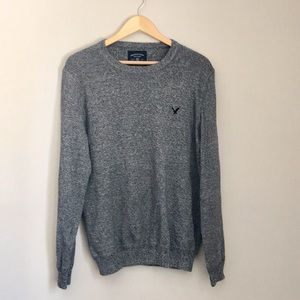 American Eagle Outfitters Gray Crewneck Sweater